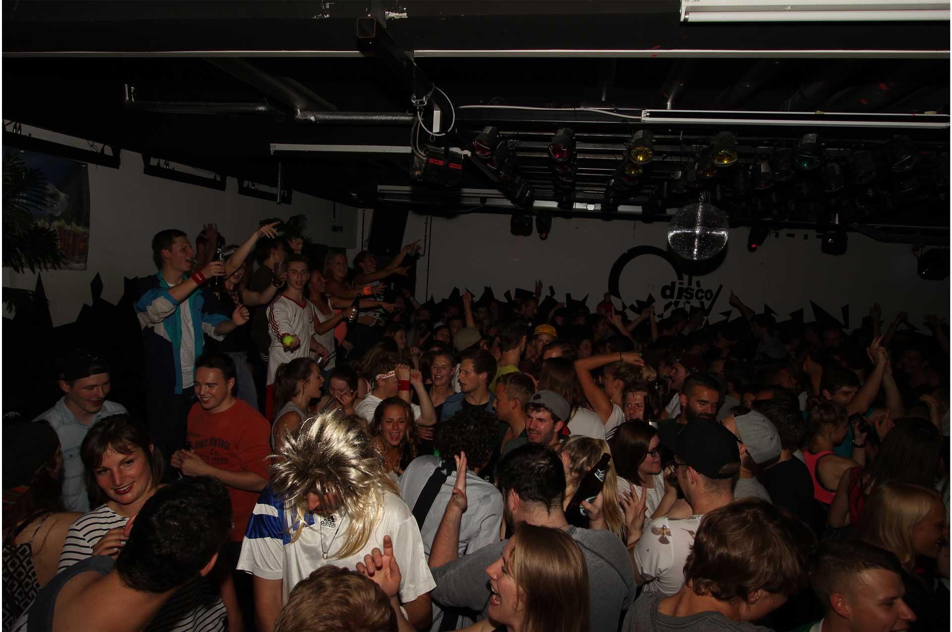 Oly-Disco und Oly-Lounge
