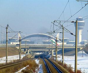 Mit der S-Bahn zum Flughafen München